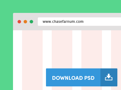 Browser Template PSD- Bootstrap v3