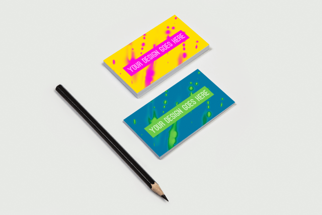 Free Business Card Mock-ups PSD