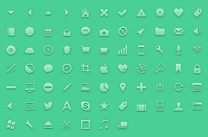 Free Icons Vector Set Download