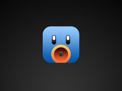 Free PSD Tweetbot icon For iOS 7