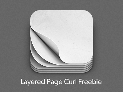 Layered iOS Page Curl Design