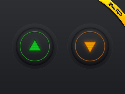 PSD - Direction Buttons