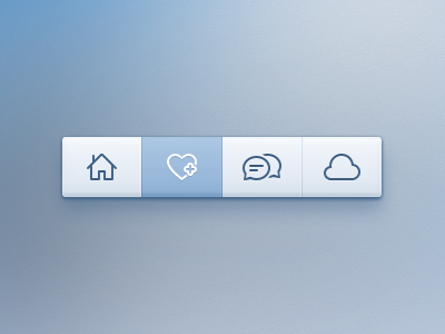 Photoshop Toolbar PSD