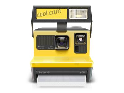 Polaroid PSD Photoshop