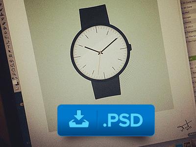 Wrist Watch PSD