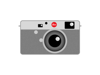 Camera Leica Vector Graphics EPS File