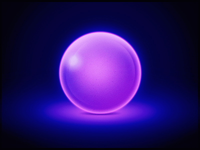 Free Glow Ball PSD – Free PSD,Vector,Icons