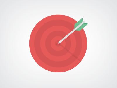 Free Target illustration PSD