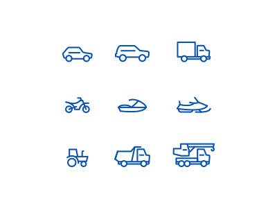 Free transport Icons Vector