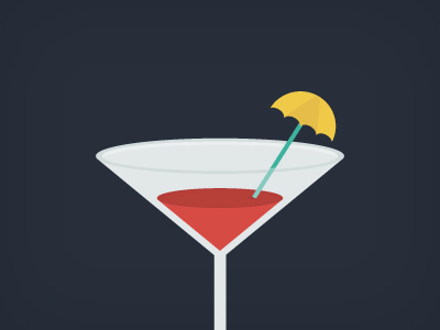 Martini icon Vector PSD