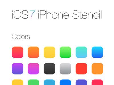 iOS7 iPhone UI stencil for Omnigraffle