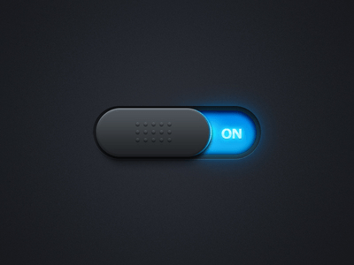 iPhone Switch Button PSD For Free