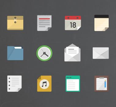 free bundle 12 vector icons