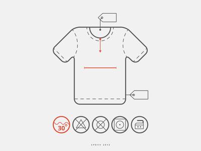Free T-shirt Icons PSD