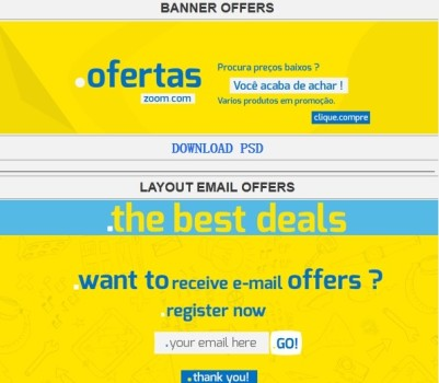 Banners Free PSD
