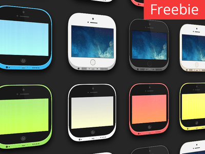 Carla iOS 7 Theme PSD – iPhone 5s & 5c