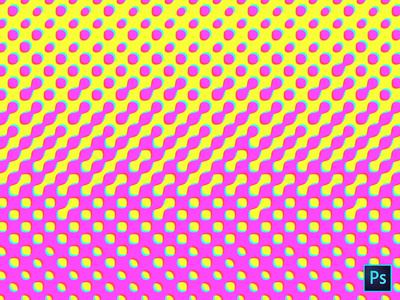 Halftone Pattern Texture Photoshop.PSD File