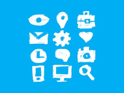 Handmade Dirty icons PSD