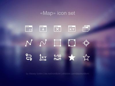 Map Icon Set