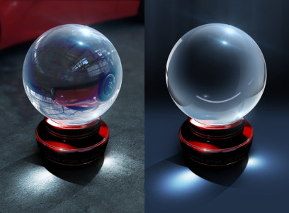 Free Crystal Ball PSD Download
