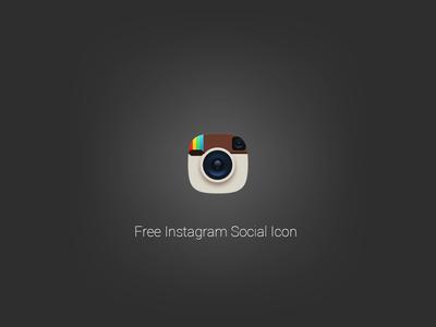 Free Instagram Social Icon