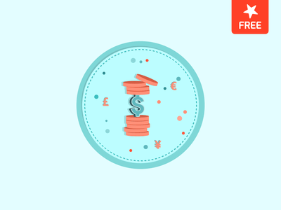 Vector Money resource – Flat Illustration Currency