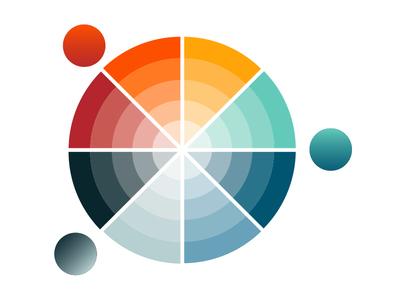 llustrator Color Wheel Vector AI