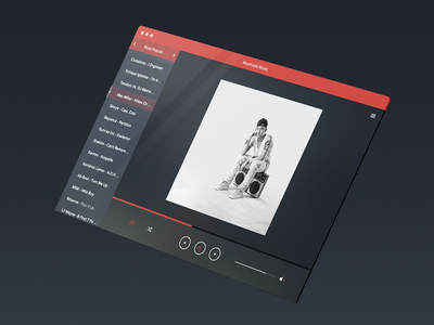 Music PSD – Media Player Template