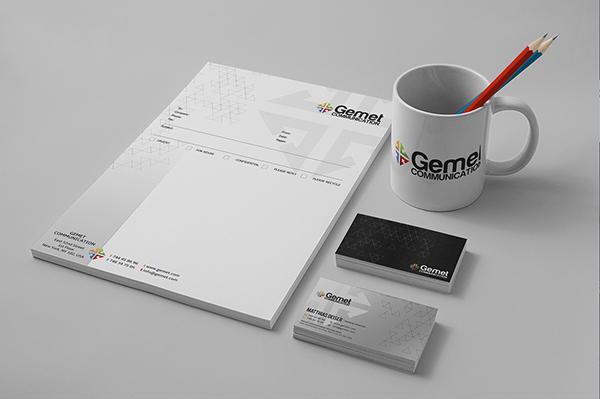 Corporate identity Template psd