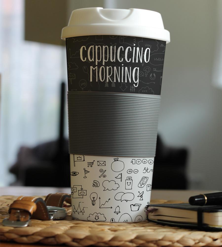 Cup Mockup PSD Freebie