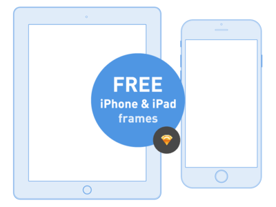 Free Ios iPhone and iPad frames