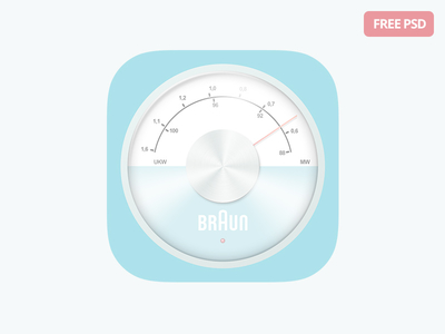 Free iOS Radio Icon