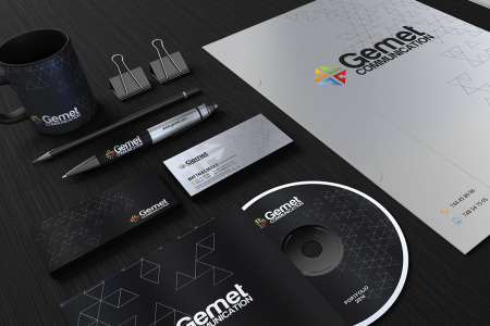Free Corporate identity Template PSD
