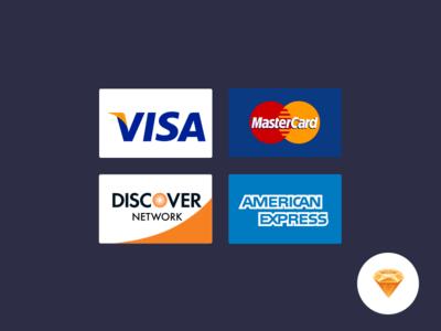 Credit Cards .sketch