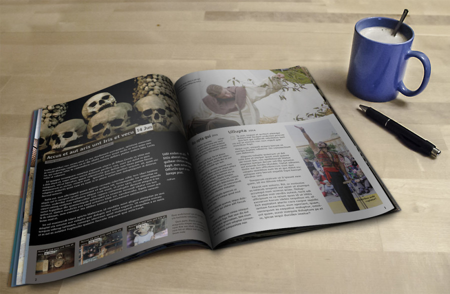 Free Magazine Mockup PSD Template Download