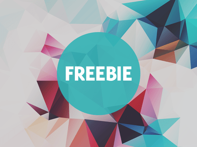 Free Polygonal Low Poly Background Texture Vol.10