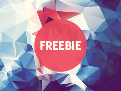 Free Polygonal Low Poly Background Texture Vol.14
