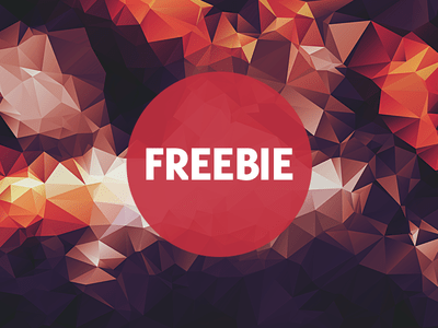 Free Polygonal Low Poly Background Texture Vol.2