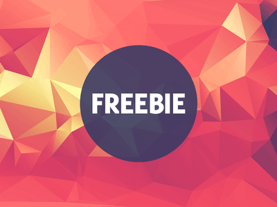 Free Polygonal Low Poly Background Texture Vol.9