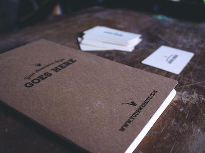 Free Vintage Journal Mockup PSD