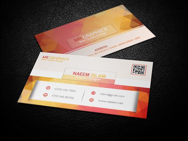 Modern Business Card Free psd