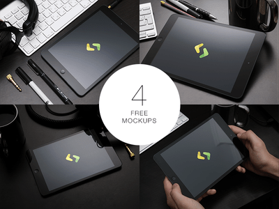Free iPad Mockups PSD Download