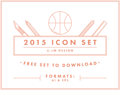 Vector Icon Set AI & EPS Free Download