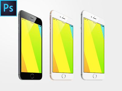 iPhone 6 Plus Free PSD MpckUp