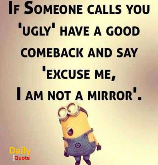 Funny Joke Quote: Funny Quotes And Sayings I Am Not Mirror Someone Call You