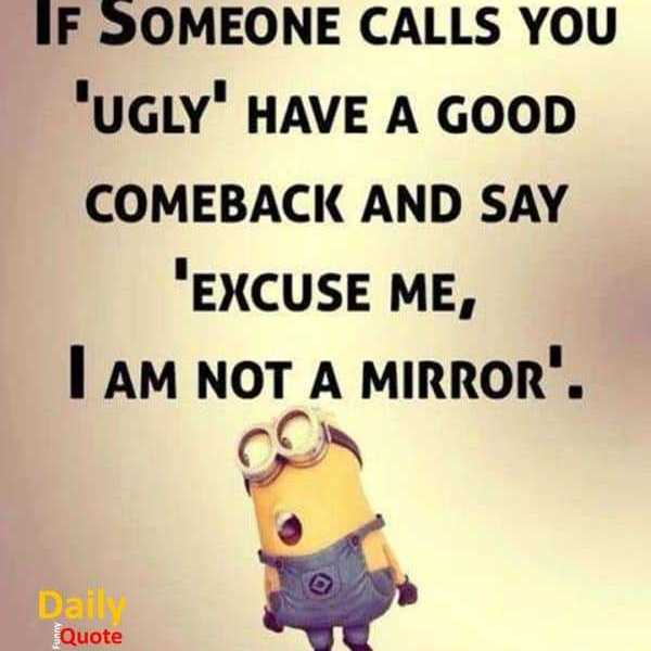 Funny Quotes and Sayings I am Not Mirror Someone Call You