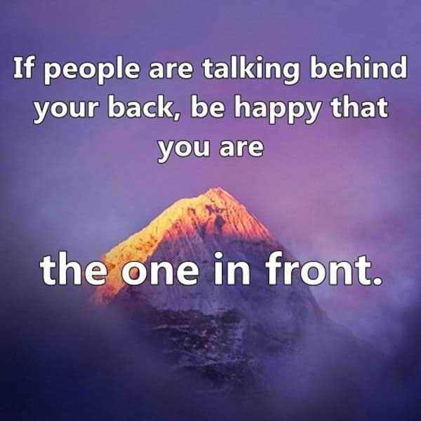 Sad I Miss You Quotes For Friends: Funny Quotes: People Talking Your Back, Be Happy