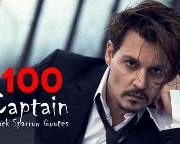 100 Captain Jack Sparrow Funny Johnny Depp Quotes