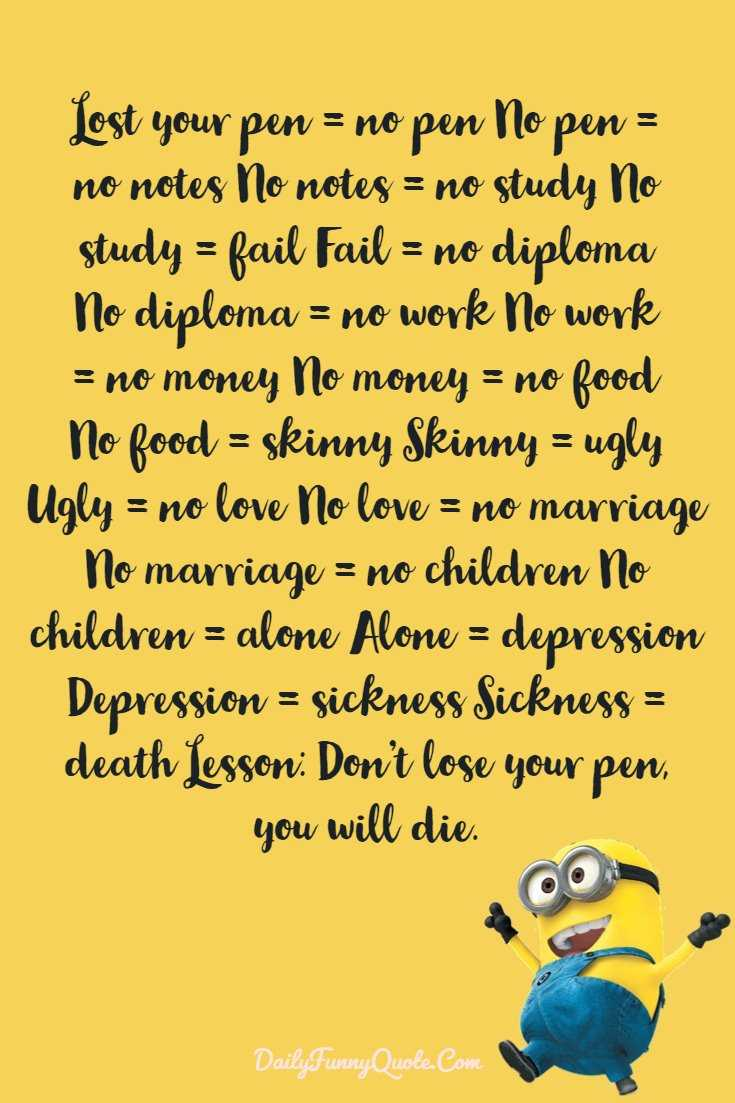 Minions Quotes 40 Funny Quotes Minions And Short Funny Words 11