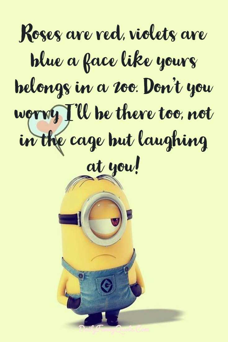 Minions Quotes 40 Funny Quotes Minions And Short Funny Words 7